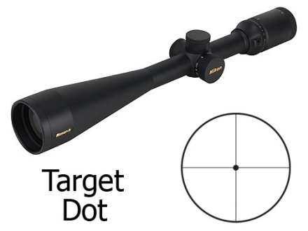Nikon Monarch Rifle Scope 6-24x 50mm Side Focus Target Dot Reticle Matte
