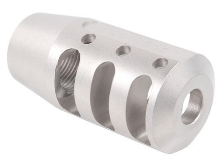 "PRI Muzzle Brake Quiet Control 5/8""-24 Thread AR-10, LR-308 Stainless Steel"