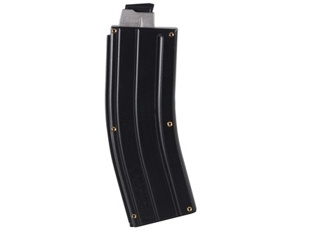 Black Dog Machine X Form Conversion Magazine with Steel Feed Lips AR-15 CMMG, Ciener, Tactical Solutions, Sig 522 Rimfire Conversions 22 Long Rifle 25-Round Polymer Black