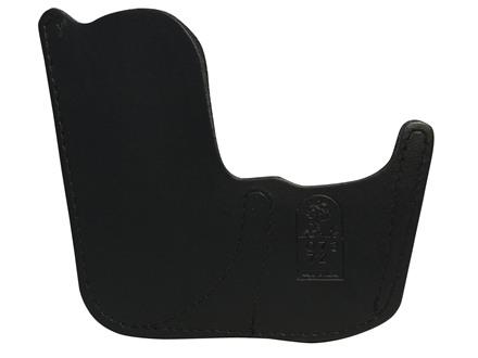 DeSantis Sting Pocket Holster Ambidextrous Seecamp 25, 32 Caliber Leather Black