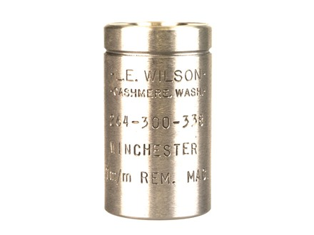 L.E. Wilson Trimmer Case Holder 264, 300, 30-338, 338, 458  Winchester Magnums, 7mm, 8mm, 416  Remington Magnums, 7mm STW, 308 Norma Magnum, 358 Norma Magnum for Fired Cases