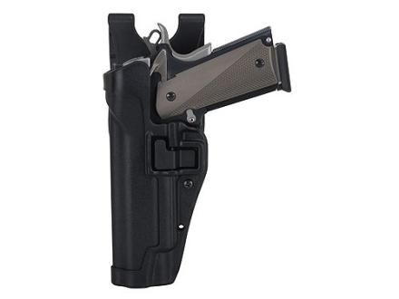 BlackHawk Level 2 Serpa Auto Lock Duty Holster Glock 17, 19, 22, 23, 31, 32 Polymer Black