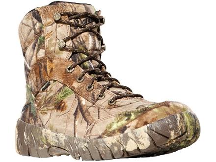 "Danner Jackal II GTX 7"" Waterproof Uninsulated Hunting Boots Nylon Realtree APG Camo Mens 7 D"