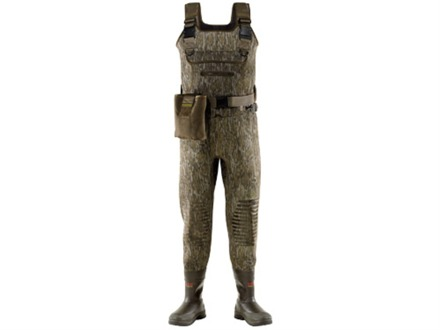 LaCrosse Swamp Tuff Pro 5 mm 1000 Gram Insulated Neoprene Chest Waders Mossy Oak Bottomland Camo Men's Stout 8