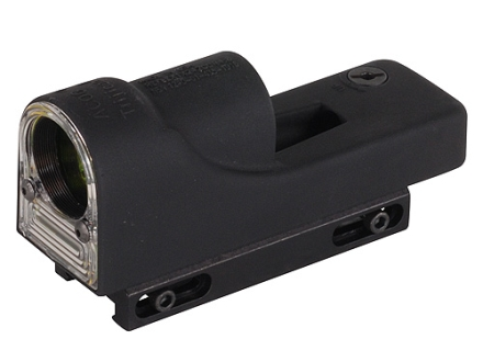 Trijicon RX06-11 Reflex Sight 1x 24mm 12.9 MOA Dual-Illuminated Amber Dot with Weaver-Style Mount Matte