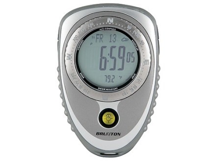 Brunton Nomad V2 Pro Digital Compass Gray and Silver