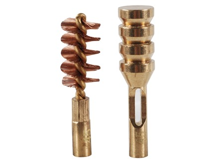 Real Avid ZipWire Pistol Cleaning Brush and Jag .45 Caliber Brass Combo Pack