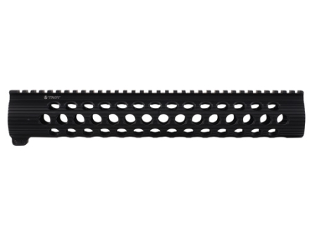 "Troy Industries 13.8"" TRX-308 Extreme Battle Rail Modular Free Float Handguard DPMS LR-308 with High Profile Upper Receiver Black"