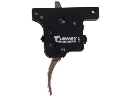 Timney Trigger Winchester Model 70 with MOA 1 to 3 lb Steel Nickel Plated