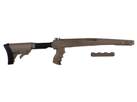 Advanced Technology Strikeforce 6-Position Collapsible Side Folding Rifle Stock with Scorpion Recoil System SKS Polymer Desert Tan
