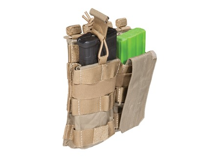 5.11 Double AR-15 Magazine Pouch with Bungee Cover Nylon