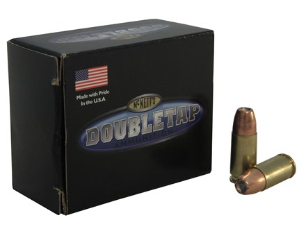 Doubletap Ammunition 9mm Luger +P 115 Grain Bonded Defense Jacketed Hollow Point Box of 20
