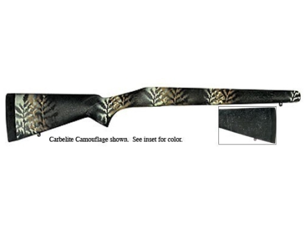 Bell and Carlson Carbelite Classic Rifle Stock Winchester Model 70 Post-64 Long Action Synthetic Black with Gray Spiderweb