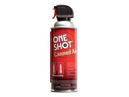 Hornady One Shot Canned Air 10oz Aerosol