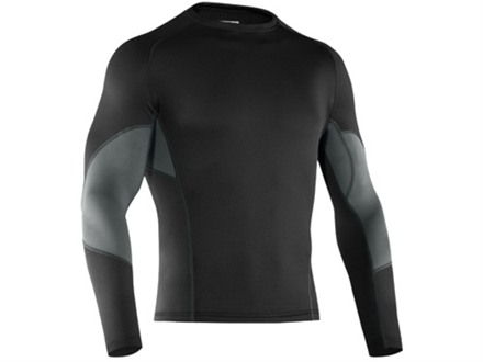 Under Armour Men's Base Map 1.5 Crew Base Layer Shirt Polyester