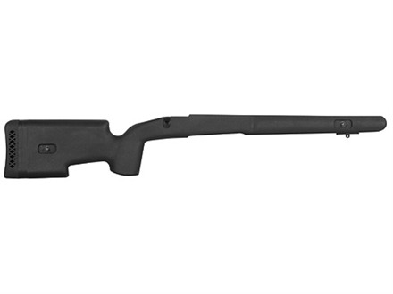 "Choate Tactical Rifle Stock Savage 10 Short Action Center Feed with 4.4"" Screw Spacing Left Hand Composite Black"
