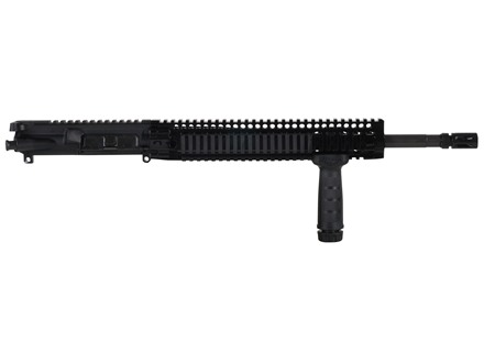 "Daniel Defense AR-15 DDM4v5 A3 Flat-Top Upper Assembly 5.56x45mm NATO 1 in 7"" Twist 16"" Government Barrel Chrome Lined CM with DDM4 12.0 Quad Rail Free Float Handguard, Flash Hider"