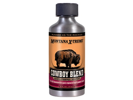 Montana X-Treme Cowboy Blend Bore Cleaning Solvent 6 oz Liquid