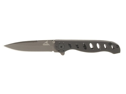 "Gerber EVO Jr Folding Knife 2-3/4"" Stainless Steel Drop Point Blade Aluminum Handle Black"