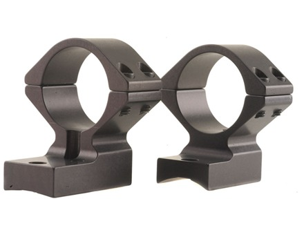 "Talley Lightweight 2-Piece Scope Mounts with Integral 1"" Rings Remington 700 Matte Medium"