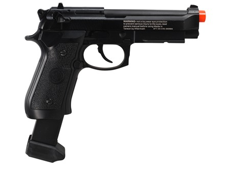 Aftermath Typhon Airsoft Pistol 6mm CO2 Blowback Full/Semi-Automatic Polymer Black