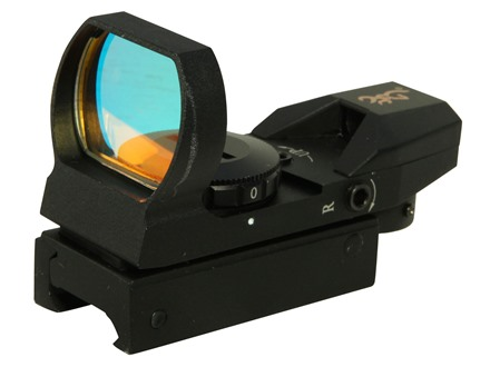 Browning Buckmark Red Dot Sight 4-Pattern Reticle (Circle-Dot-Cross, 3 MOA Dot, Cross-Dot, Circle-Dot) with Inegral Weaver-Style Mount Matte