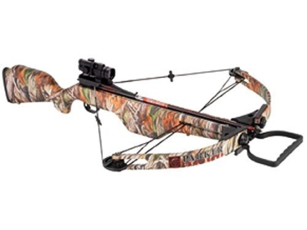 Parker Terminator HP175 Crossbow Package with Triple Red Dot Sight Next G1 Vista Camo