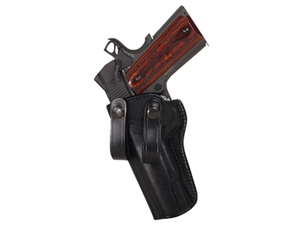 Galco Summer Comfort Inside the Waistband Holster Left Hand 1911 Government Leather Black
