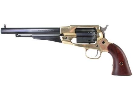 "CVA 1858 Remington Army Brass Frame Cap and Ball Revolver 44 Caliber 7-1/2"" Blue Barrel"