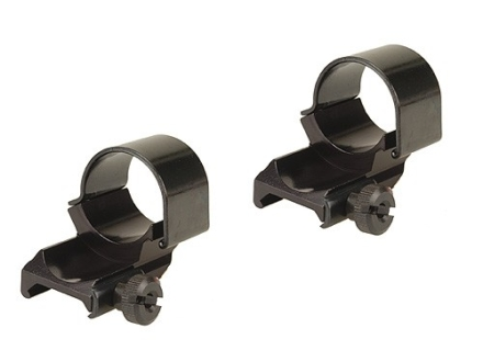 "Weaver 1"" Top-Mount Dual Extended Rings Gloss High"