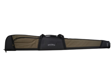 "Uncle Mike's Shotector II Shotgun Gun Case 52"" 600D Polyester Sage and Black"