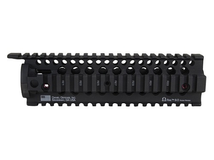 Daniel Defense Omega Free Float Tube Handguard Quad Rail AR-15 Aluminum Black