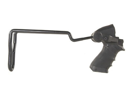 Knoxx COPStock Recoil Reducing Folding Stock Maverick 88, Mossberg 500, 590, 590A1, 835 12 Gauge Synthetic Black