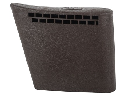 "Butler Creek Deluxe Recoil Pad Slip-On 5"" x 1-1/2"" x 3/4"" Thick Rubber Brown Small"