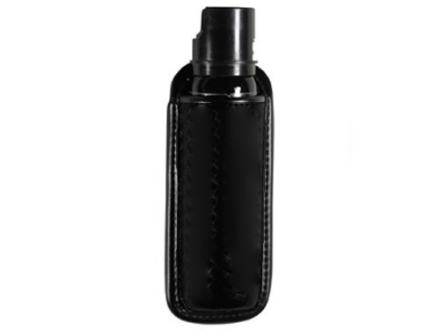 "Bianchi 7908 AccuMold Elite Mace or Pepper Spray Pouch Open Top MKIV Canisters 7-1/4"" Trilaminate High-Gloss Black"