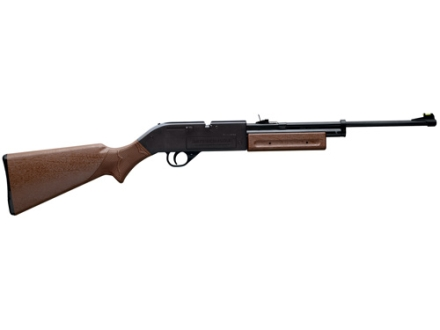 Crosman 760 Pumpmaster Air Rifle 177 Caliber BB and Pellet Brown Polymer Stock Matte Barrel