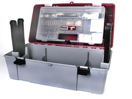 Tipton Range Box with Ultimate Rifle, Pistol Cleaning Kit (No Solvents)