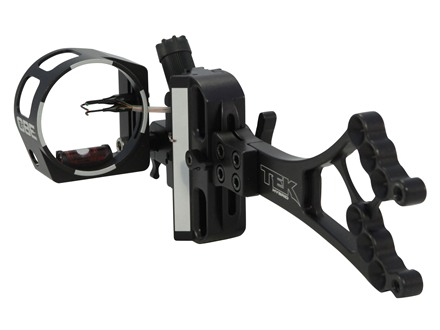 Custom Bow Equipment Tek-Hybrid Adjustable 3-Pin Bow Sight Right Hand Aluminum Black