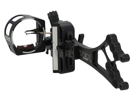 Custom Bow Equipment Tek-Hybrid Adjustable 3-Pin Bow Sight Right Hand Aluminum Black