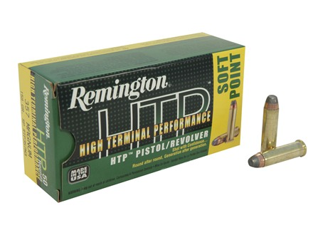 Remington High Terminal Performance Ammunition 357 Magnum 158 Grain Jacketed Soft Point Box of 50