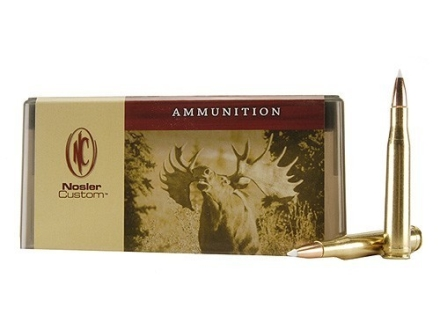 Nosler Custom Ammunition 300 H&H Magnum 150 Grain AccuBond Spitzer Box of 20