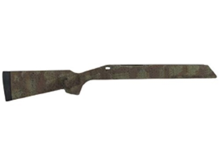 H-S Precision Pro-Series Rifle Stock Remington 700 ADL Short Action Varmint Barrel Channel Target Hunter Class Synthetic Green Camo