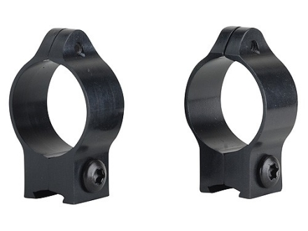 "Talley 1"" Ring Mounts Remington 597, Weatherby MK22, Winchester 9422 Matte Low"