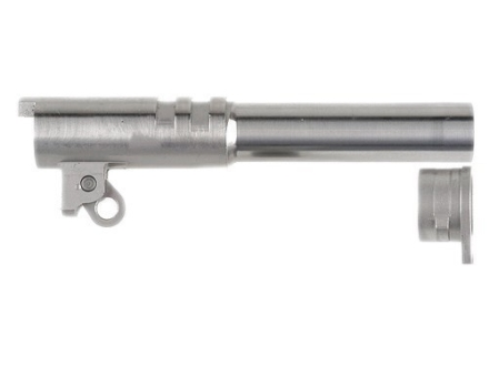 "Ed Brown Semi-Drop-In Barrel with Bushing 1911 Commander 45 ACP 1 in 16"" Twist 4-1/4"" Stainless Steel"