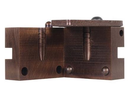 Saeco 1-Cavity Magnum Bullet Mold #305 31 Caliber (311 Diameter) 180 Grain Flat Nose Gas Check