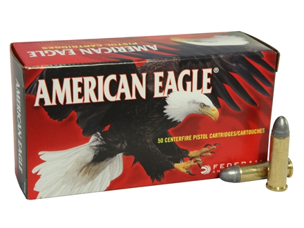 Federal American Eagle Ammunition 38 Special 158 Grain Lead Round Nose Box of 50
