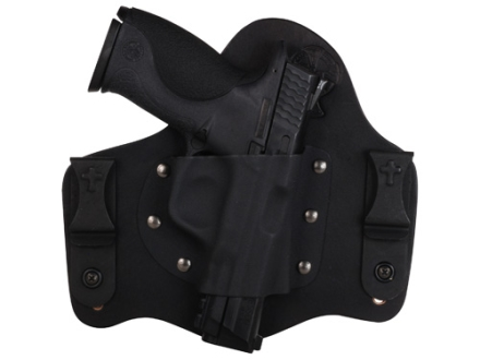 CrossBreed SuperTuck Deluxe Inside the Waistband Holster Right Hand 1911 Government Kydex and Cow Hide Black