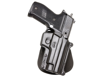 Fobus Paddle Holster Right Hand Sig Sauer P220, P225, P226, P228, P245 (Including Rail Models) Polymer Black