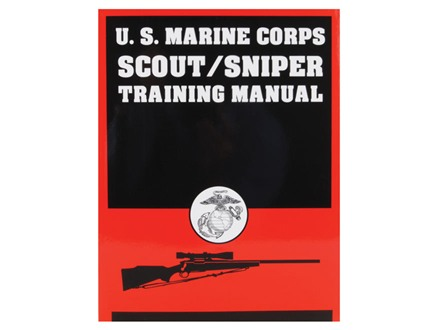 """U.S. Marine Corps Scout/Sniper Training Manual"" Book by United States Marine Corps"