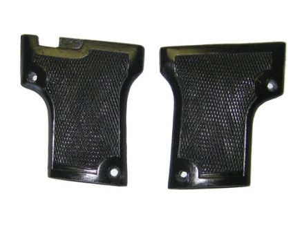 Vintage Gun Grips Webley 1909 Double Screw 25 ACP Polymer Black